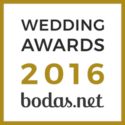Ganador Wedding Awards 2016 Bodas.net